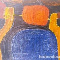 Arte: PINTURA ABSTRACTA DEL PINTOR CATALAN JOSEP MARFA GUARRO DE BARCELONA. Lote 178360136