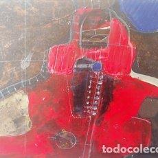 Arte: PINTURA ABSTRACTA DEL PINTOR CATALAN JOSEP MARFA GUARRO DE BARCELONA. Lote 178360232