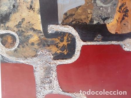 PINTURA ABSTRACTA DEL PINTOR CATALAN JOSEP MARFA GUARRO DE BARCELONA (Arte - Pintura Directa del Autor)