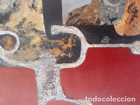 Arte: PINTURA ABSTRACTA DEL PINTOR CATALAN JOSEP MARFA GUARRO DE BARCELONA - Foto 2 - 178360526