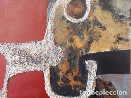 Arte: PINTURA ABSTRACTA DEL PINTOR CATALAN JOSEP MARFA GUARRO DE BARCELONA - Foto 4 - 178360526