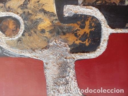 Arte: PINTURA ABSTRACTA DEL PINTOR CATALAN JOSEP MARFA GUARRO DE BARCELONA - Foto 5 - 178360526