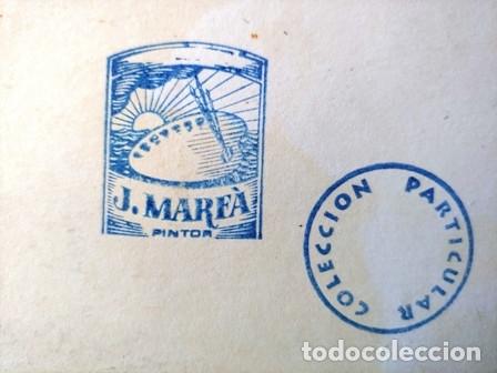 Arte: PINTURA ABSTRACTA DEL PINTOR CATALAN JOSEP MARFA GUARRO DE BARCELONA - Foto 7 - 178360526