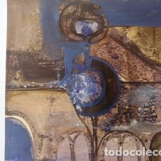 Arte: PINTURA ABSTRACTA DEL PINTOR CATALAN JOSEP MARFA GUARRO DE BARCELONA. Lote 178360667