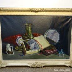 Arte: GRAN ÓLEO HIPERREALISTA DE EDUARD COSTA BURES(CASTELLTERÇOL 1919-2014).EXCELENTE OBRA.. Lote 178390622
