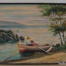 Arte: MARINA ORIGINAL ANONIMA, OLEO - LIENZO. Lote 178400342