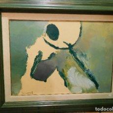 Arte: OPORTUNIDAD OBRA SELECCIONADA OLEO GUINOVART. Lote 178446847