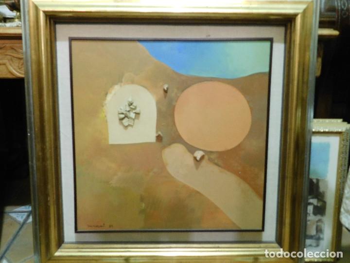OPORTUNIDAD OBRA SELECCIONADA OLEO GUINOVART (Arte - Pintura - Pintura al Óleo Contemporánea )