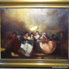 Arte: OLEO DE JOAN CAMO SENTÍS(BCN 1920-2001).EXCELENTE SEGUIDOR DE LA ESCUELA DE GOYA Y LUCAS VELAZQUEZ.. Lote 178626882