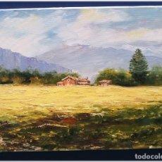 Arte: PINTURA AL OLEO SOBRE LIENZO 27X35. Lote 178689818