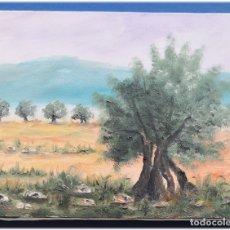 Arte: PINTURA AL OLEO SOBRE LIENZO 27X35. Lote 178690132