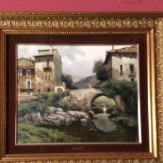 Arte: CUADRO AL ÓLEO DE JOSEP COLOMER. Lote 178390690