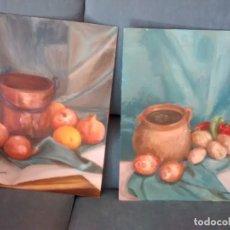 Arte: PAREJA DE BODEGONES. Lote 178753436