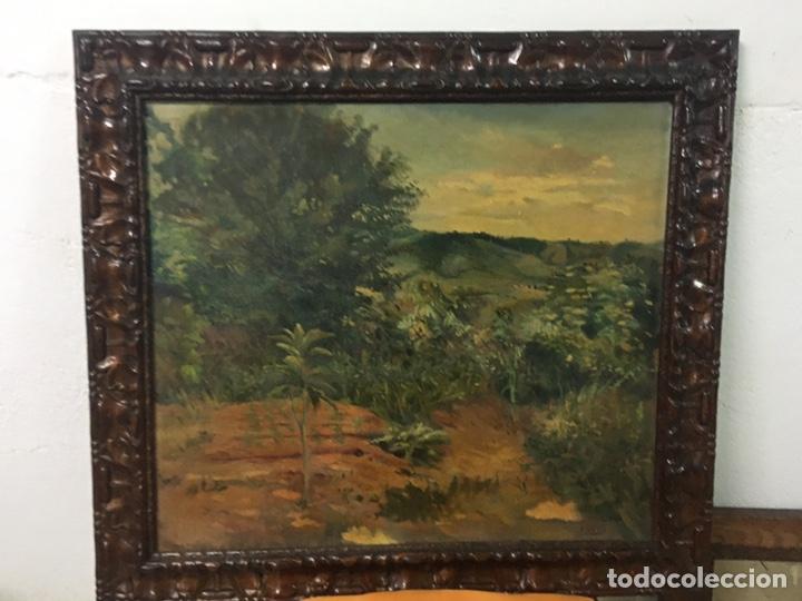 Arte: Pintura al óleo sobre lienzo firmada - Foto 3 - 178805703