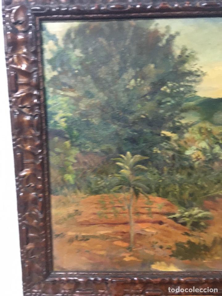 Arte: Pintura al óleo sobre lienzo firmada - Foto 4 - 178805703