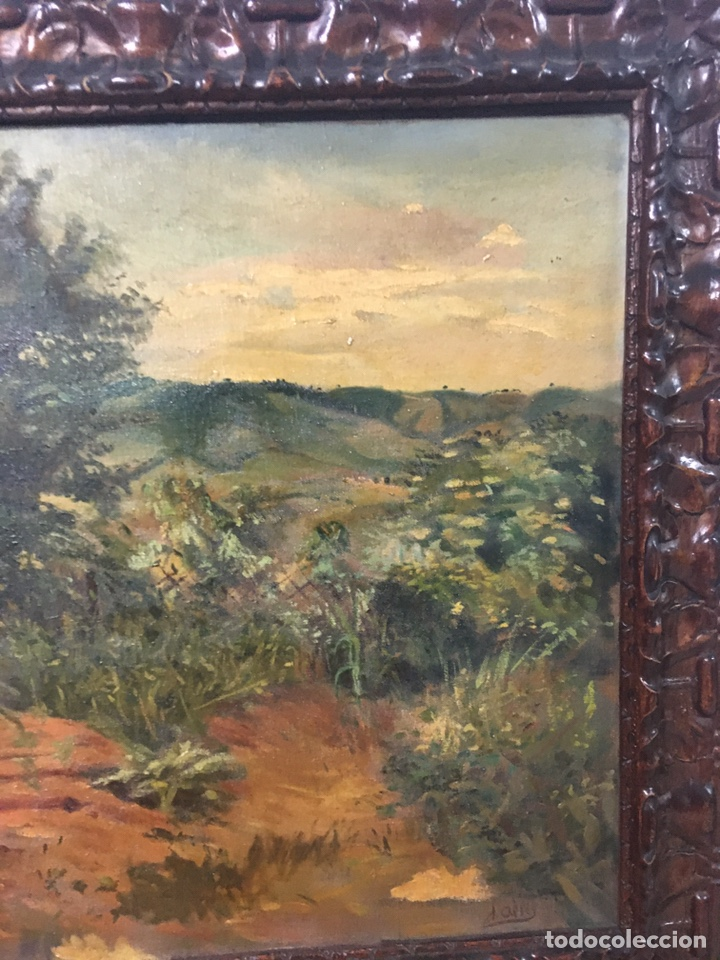Arte: Pintura al óleo sobre lienzo firmada - Foto 6 - 178805703