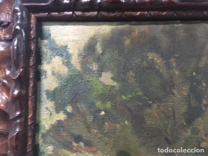 Arte: Pintura al óleo sobre lienzo firmada - Foto 7 - 178805703