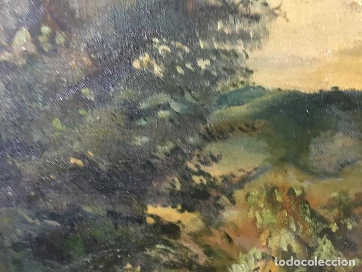 Arte: Pintura al óleo sobre lienzo firmada - Foto 8 - 178805703