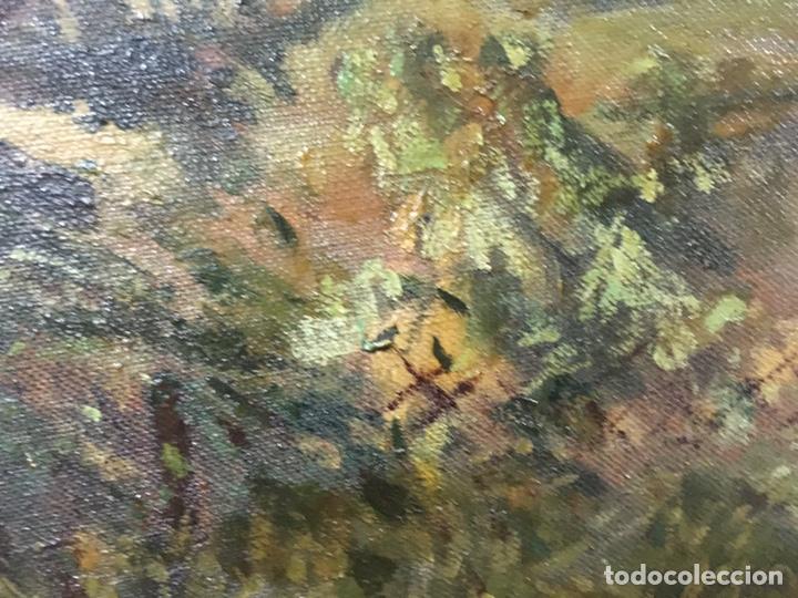 Arte: Pintura al óleo sobre lienzo firmada - Foto 9 - 178805703