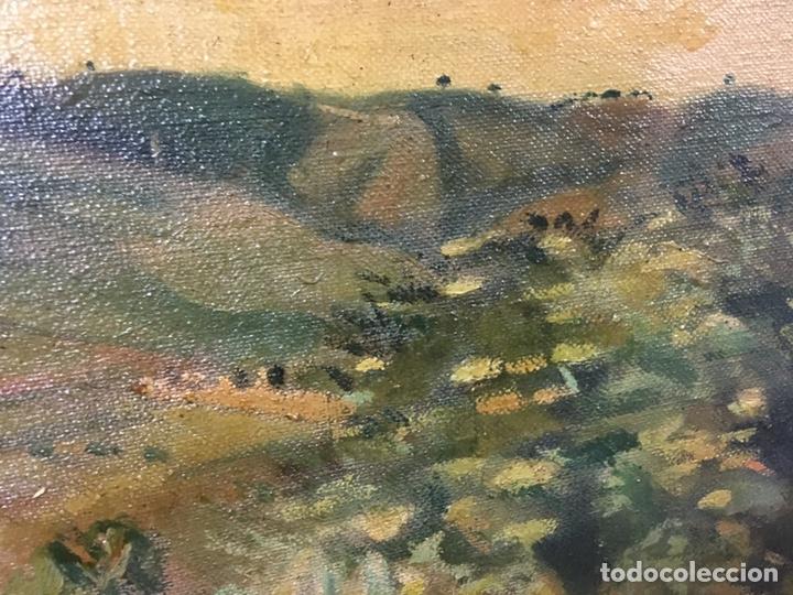 Arte: Pintura al óleo sobre lienzo firmada - Foto 10 - 178805703