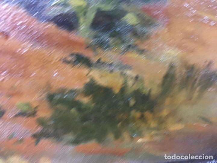 Arte: Pintura al óleo sobre lienzo firmada - Foto 12 - 178805703