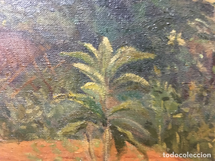 Arte: Pintura al óleo sobre lienzo firmada - Foto 13 - 178805703