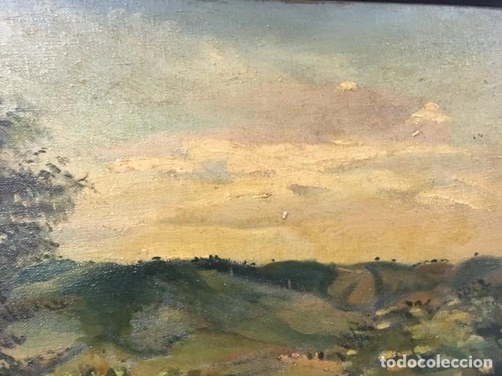 Arte: Pintura al óleo sobre lienzo firmada - Foto 14 - 178805703