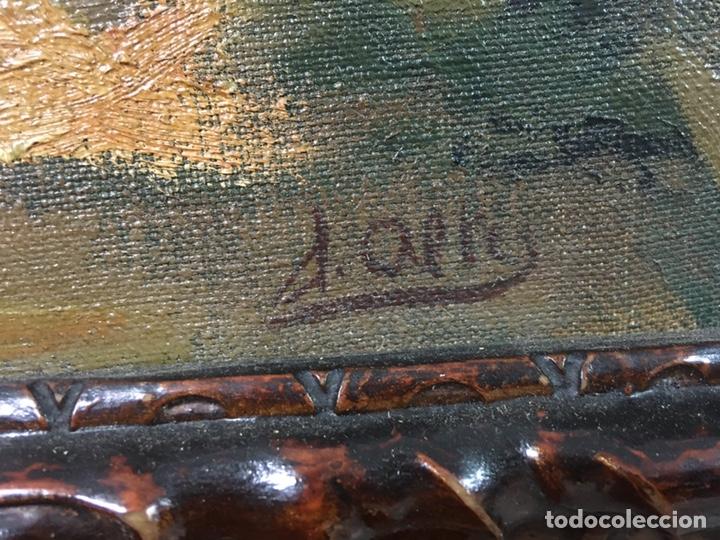 Arte: Pintura al óleo sobre lienzo firmada - Foto 16 - 178805703
