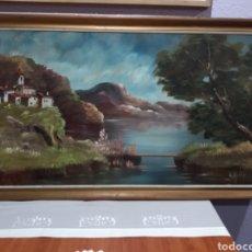 Arte: GRAN CUADRO ( OLEO SOBRE TABLA ANTIGUO ) VER FOTOGRAFÍAS. MÁS ARTÍCULOS CUADROS ANTIGUO EN MI PERFIL. Lote 178807736