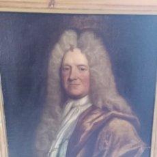 Arte: ANTIGUO OLEO SOBRE LIENZO SIGLO XVIII RETRATO ESCUEL A FRANCESA. Lote 178808452