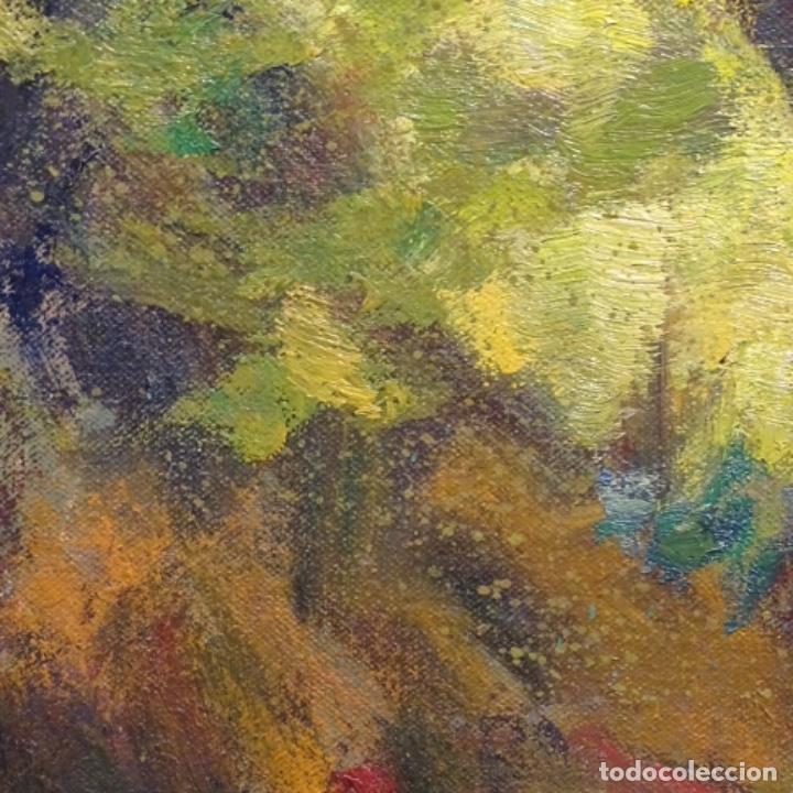 Arte: Oleo sobre tela de Antonio Pineda salmeron(motril1953).tema de otoño.bien enmarcado. - Foto 11 - 178827846
