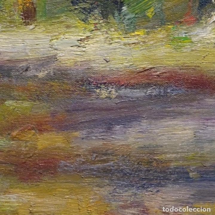 Arte: Oleo sobre tela de Antonio Pineda salmeron(motril1953).tema de otoño.bien enmarcado. - Foto 12 - 178827846