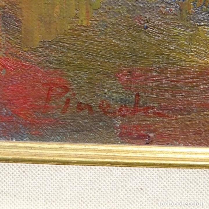 Arte: Oleo sobre tela de Antonio Pineda salmeron(motril1953).tema de otoño.bien enmarcado. - Foto 13 - 178827846