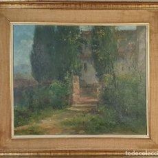 Arte: PAISAJE RURAL. ÓLEO SOBRE LIENZO. FIRMADO MANUEL PIGEM. SIGLO XIX-XX. . Lote 178837493