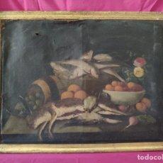 Arte: ÓLEO SOBRE LIENZO BODEGÓN SIGLO XVII-XVIII - 1000-032. Lote 43108037