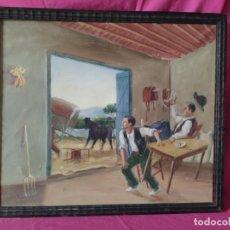 Arte: ÓLEO SOBRE LIENZO PINTOR GODÍNEX - 1000-235. Lote 89643352
