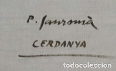 Arte: SANROMÁ MAÑÁ , PERE ( OLEO SOBRE LIENZO DE LA ( CERDANYA ) perfecto - Foto 5 - 178868138
