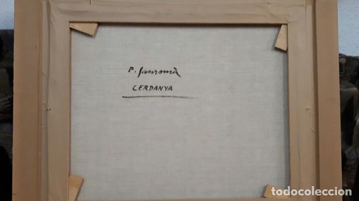 Arte: SANROMÁ MAÑÁ , PERE ( OLEO SOBRE LIENZO DE LA ( CERDANYA ) perfecto - Foto 8 - 178868138