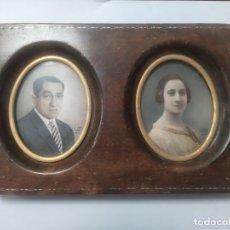 Arte: FOTOMINIATURA - RETRATOS PINTADOS A MANO - LINKER MADRID - 1925 / 1975 - MINIATURAS. Lote 178906806