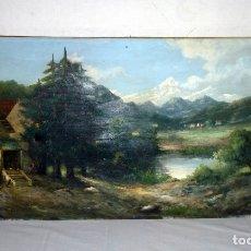 Arte: OLEO SOBRE LIENZO FIRMADA.. Lote 178914407