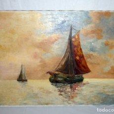 Arte: OLEO SOBRE LIENZO TECNICA ESPATULA.. Lote 178914455