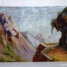Arte: OLEO SOBRE TELA DE LINO.FIMADO.1947. Lote 178914671