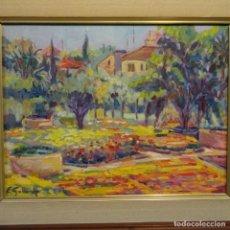 Arte: ÓLEO SOBRE TELA FIRMADO E. GALLARDO.BUEN TRAZO Y COLORIDO.. Lote 178986906
