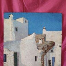 Arte: ÓLEO SOBRE TABLA PAISAJE ENRIQUE GABRIEL NAVARRO 1927-1980 - 1000-046. Lote 43138658