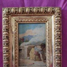 Arte: ÓLEO SOBRE TABLA A. LIZCANO 1846-1929 - 1000-027. Lote 43107570