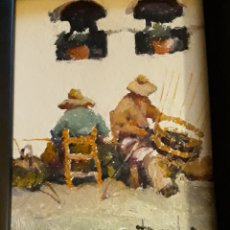 Arte: POVEDA IBARS , RAMON ( PINTOR ) /// OLEO SOBRE TABLA ///. Lote 179017668