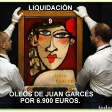 Arte: 9 ÓLEOS (OJO QUE SE INCLUYEN LOS GITANOS) + 1 DIBUJO ROTULADOR - JUAN GARCÉS. Lote 120813871
