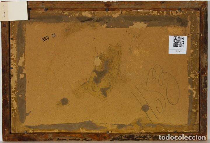 Arte: Escuela Inglesa. Oleo sobre Lienzo. Siglo XIX - Foto 4 - 179042963