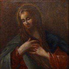 Arte: ANTONI VILADOMAT (1678-1755). ÓLEO/LIENZO 45 X 40 CM. FIRMADO. CON MARCO.. Lote 179046882