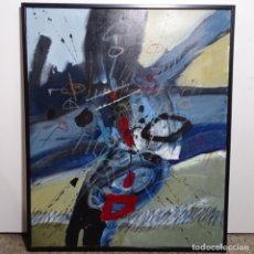 Arte: GRAN ÓLEO SOBRE TELA DE ANTONI MUY TORROJA(BARCELONA1921-1990).BIEN ENMARCADO.. Lote 179048600
